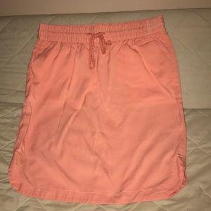 Peach Loft drawstring skirt